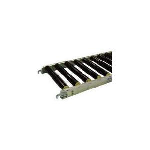 [代引不可] セントラル 樹脂ローラコンベヤ JRAU5012型500W×100P×1500L 【JRAU5012501015】