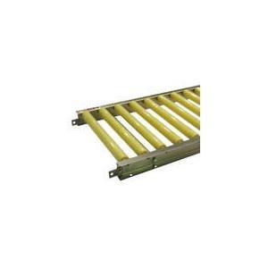[代引不可] セントラル 樹脂ローラコンベヤ JRJU5012型 400W×75P×2000L 【JRJU5012400720】