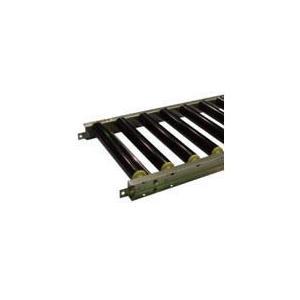 [代引不可] セントラル 樹脂ローラコンベヤ JRU5012型 500W×75P×2000L 【JRU5012500720】