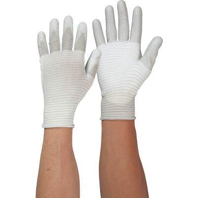 [代引不可] マックス 低発塵制電パームガード手袋13ゲージ (10双入) 【MX327M】