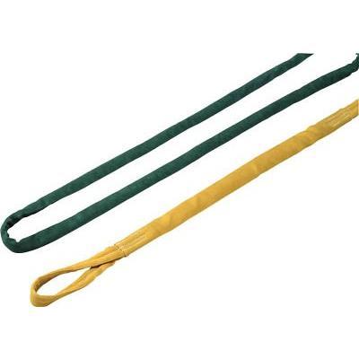 [代引不可] ロックスリング ソフター N 16T(緑 縫製タイプ 刺繍付)X3.5m 【N16TX3.5】