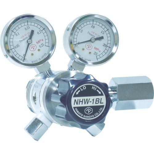 ヤマト 分析機用フィン付二段微圧調整器 NHW−1BL [NHW1BLTRC]