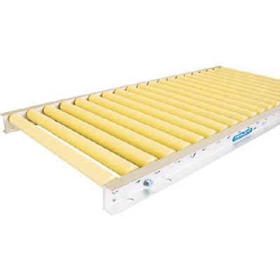 [代引不可] TS 樹脂製ローラコンベヤφ30−W350XP50X90°カーブ 【P30350590R55】