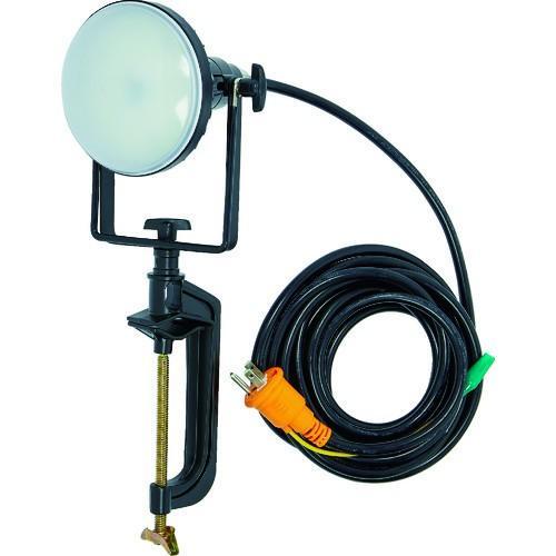 TRUSCO LED投光器 DELKURO バイスタイプ 20W 5m アース付 2芯3芯両用タイプ [RTLE205EPV]