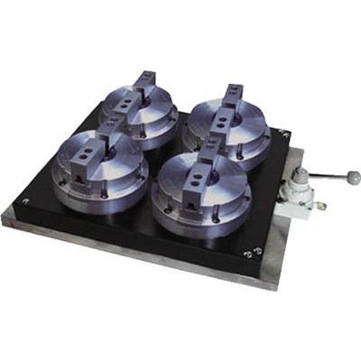 [代引不可] ビクター エアジグチャック SAC−5B2−4P 4連マルチプレート仕様 2爪 【SAC5B24P】