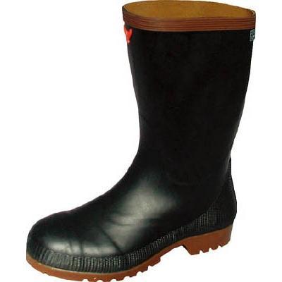 [代引不可] SHIBATA 安全スーパークリーン長靴8型(黒) 25.0 【SB16625.0】