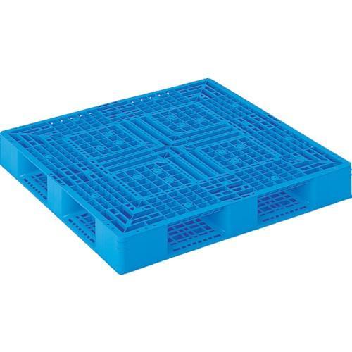 サンコー プラスチックパレット 1200X1200X150 青 サンコー プラスチックパレット 1200X1200X150 青 サンコー プラスチックパレット 1200X1200X150 青 [SKD412122BL] 668