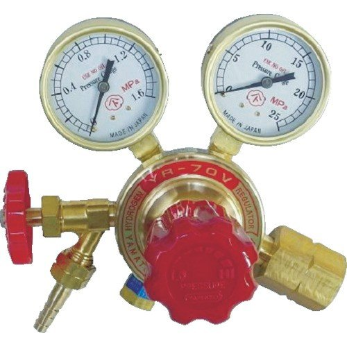 ヤマト 水素用圧力調整器 [YR70V2212HG04]