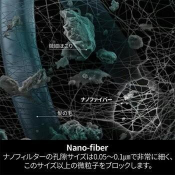メーカー直営店 ナノマスク 信州大学共同開発 BREATH SILVER QUINTET MASK ブレスマスク レギュラー グレー  1袋(2枚入)PM0.1〜PM2.5対応|goodmall-japan|10