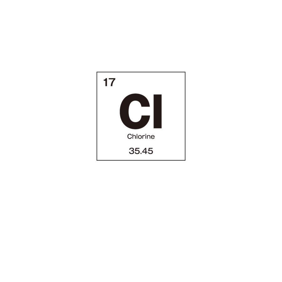 Tシャツ 塩素 元素記号|goods-pro|02