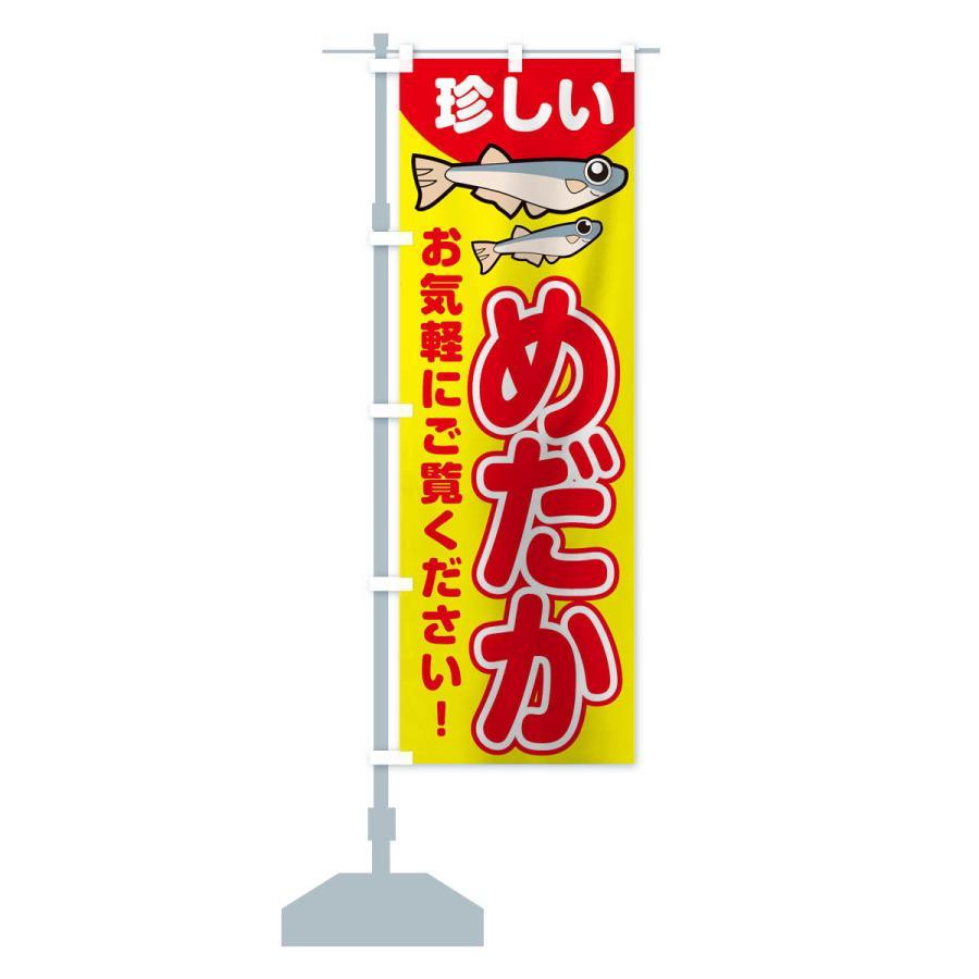 のぼり旗 珍しいメダカいます goods-pro 13