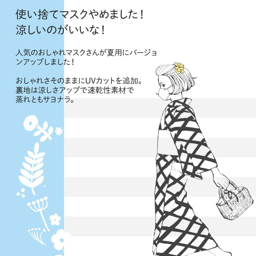 洗って使えてとってもエコなすずしげマスクさん Vol2|goods-pro|02