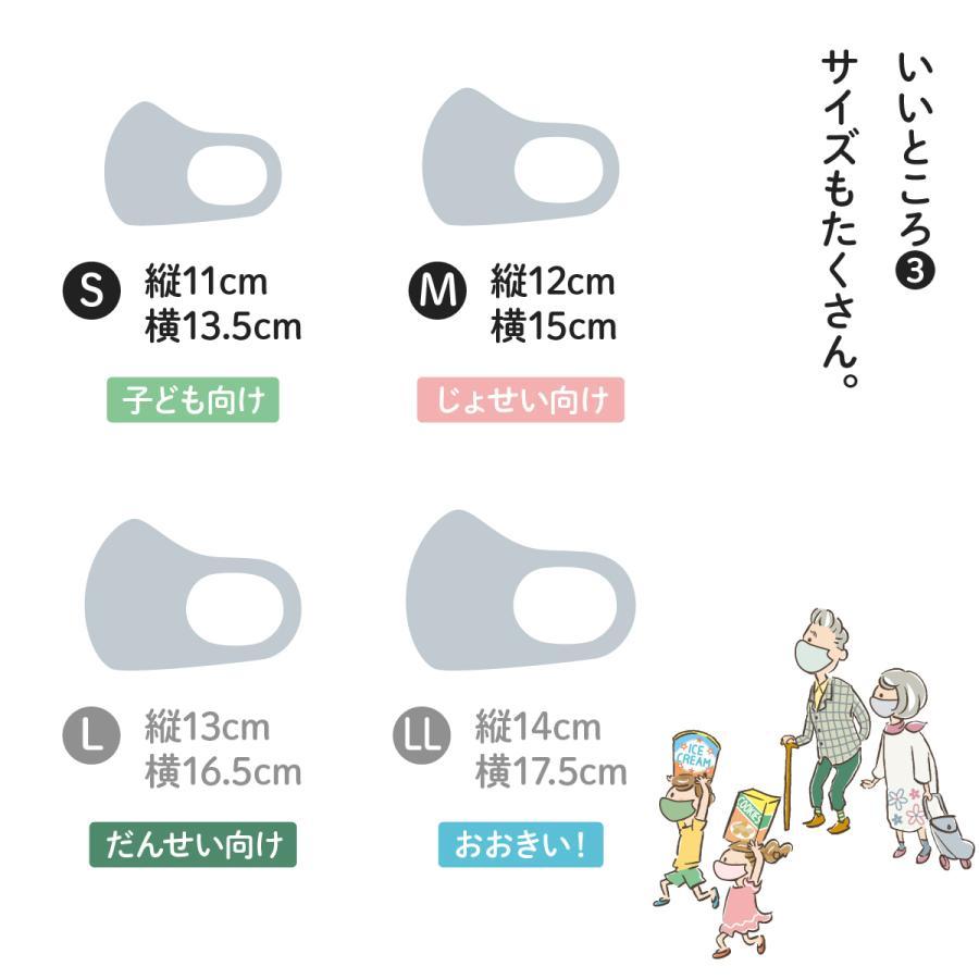 やさし仕立てマスク ちいさいさん S M 秋冬用 2枚セット|goods-pro|05
