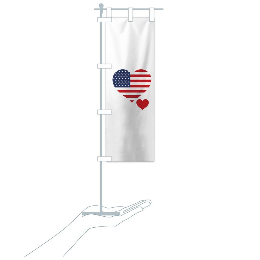 のぼり旗 アメリカ国旗|goods-pro|17