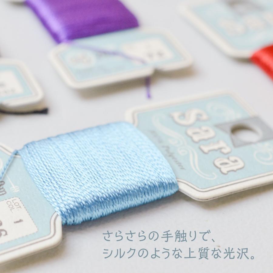 Sara 手縫いステッチ糸 20m フジックス goods-pro 02