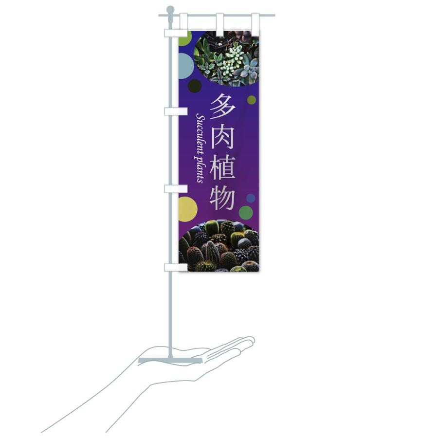 のぼり旗 多肉植物|goods-pro|17