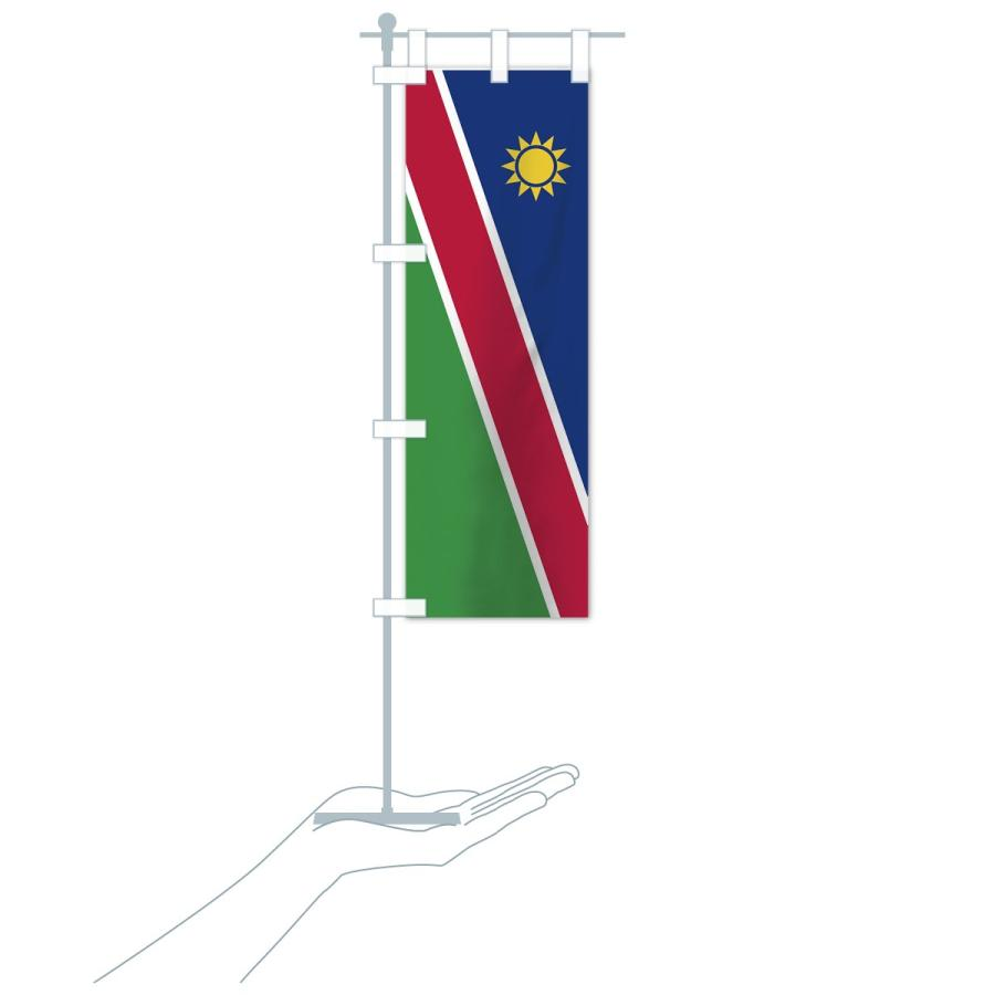 のぼり旗 ナミビア共和国国旗 goods-pro 16