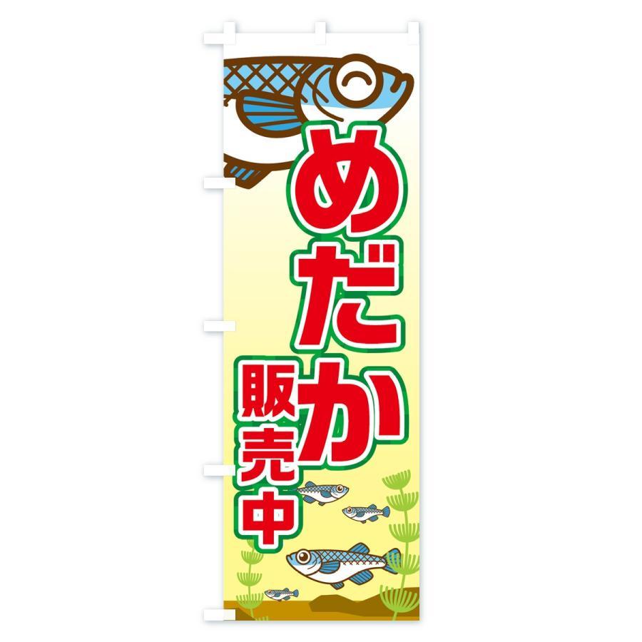 のぼり旗 めだか販売中|goods-pro|04