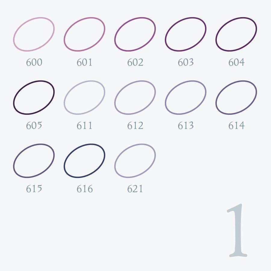 刺しゅう糸 25番 紫系 オリムパス Part1|goods-pro|02