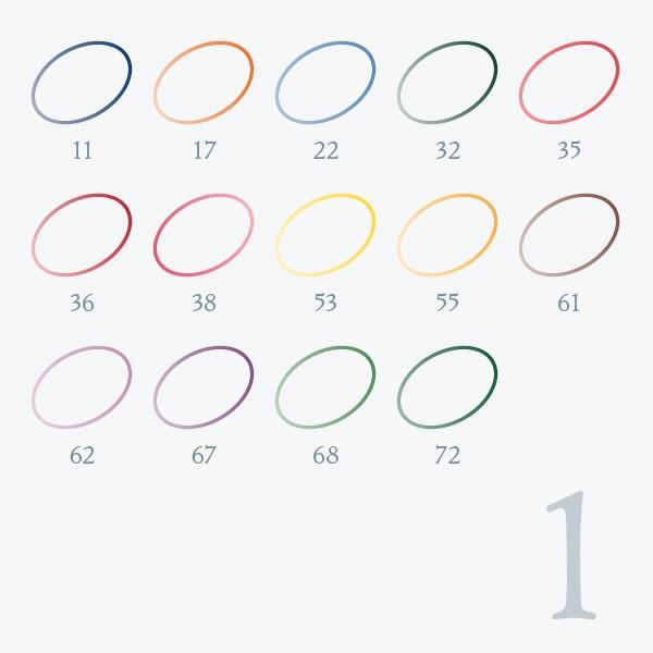 刺しゅう糸 25番 ぼかし色系 オリムパス|goods-pro|02