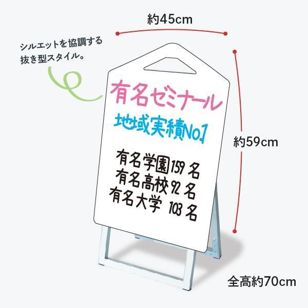 おしゃれな立て看板 鉛筆形 ブラックボード goods-pro 02