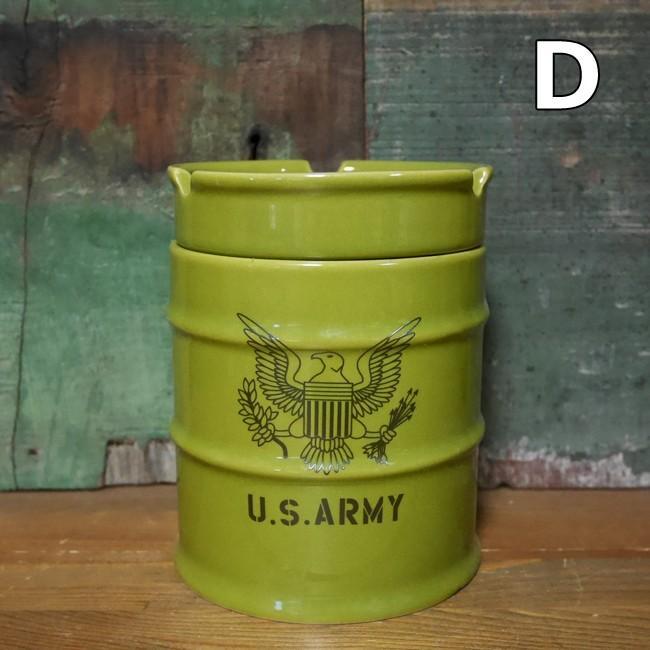 ドラム缶灰皿 アメリカン 卓上灰皿 陶器製灰皿 goodsfarm 05