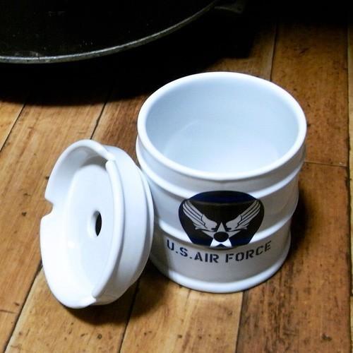 ドラム缶灰皿 アメリカン 卓上灰皿 陶器製灰皿 goodsfarm 06