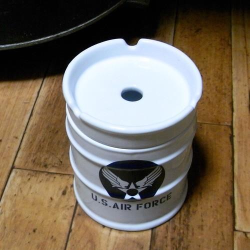ドラム缶灰皿 アメリカン 卓上灰皿 陶器製灰皿 goodsfarm 07