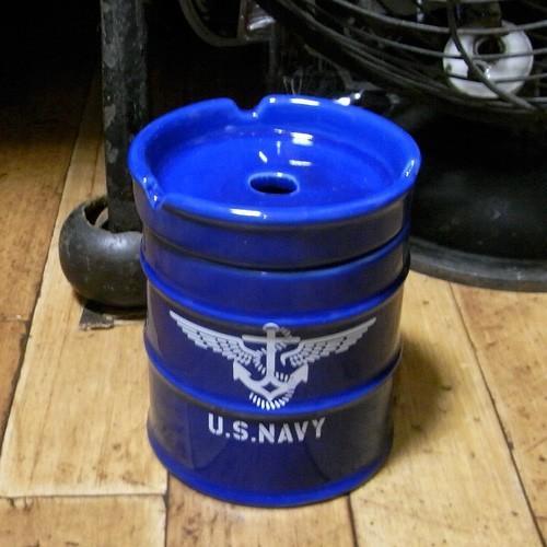 ドラム缶灰皿 アメリカン 卓上灰皿 陶器製灰皿 goodsfarm 08