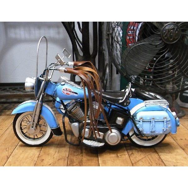 ブリキのおもちゃ サイドカー バイク ハーレーダビッドソン