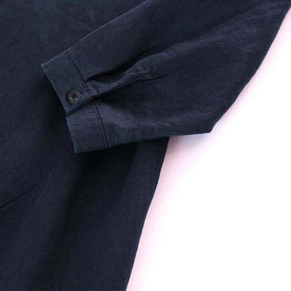ワンピース レディース ロングワンピース ロングシャツ ゆったり カバー ブラウス きれいめ 上品 30代 40代メール便のみ送料無料2 5月1日から10日入荷予定|goodstown|12