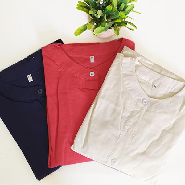 ワンピース レディース ロングワンピース ロングシャツ ゆったり カバー ブラウス きれいめ 上品 30代 40代メール便のみ送料無料2 5月1日から10日入荷予定|goodstown|13