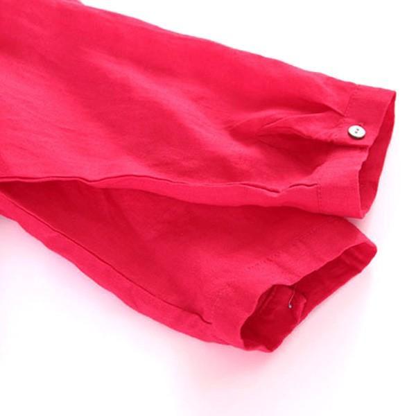 ワンピース レディース ロングワンピース ロングシャツ ゆったり カバー ブラウス きれいめ 上品 30代 40代メール便のみ送料無料2 5月1日から10日入荷予定|goodstown|10