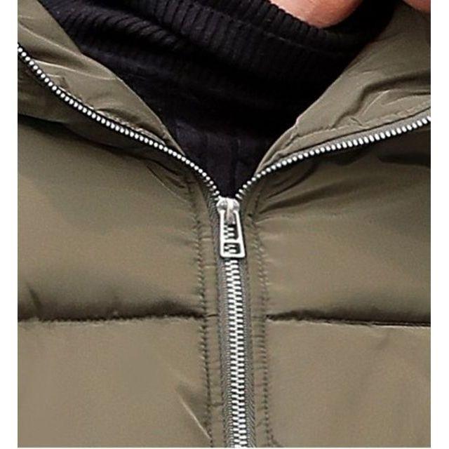 中綿ジャケット コート ペアルック メンズ/レディース アウター パーカー ショットコート カップル 厚手 恋人お揃い|goody1974pro|08
