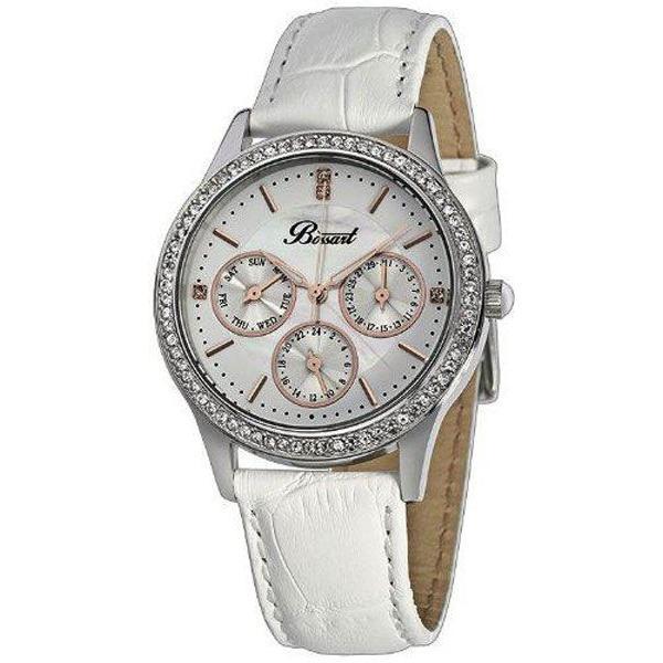 最新人気 腕時計 レディース ドイツデザイン Bossart ボッサート BW-1001-SW グラムシリーズ カレンダー, 岡谷市 8b246273