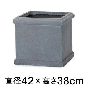 植木鉢 おしゃれ 大型 ベータ ヘビーリム グレー 42cm メーカー直送 同梱不可 代引不可 返品不可 プロフェッショナル