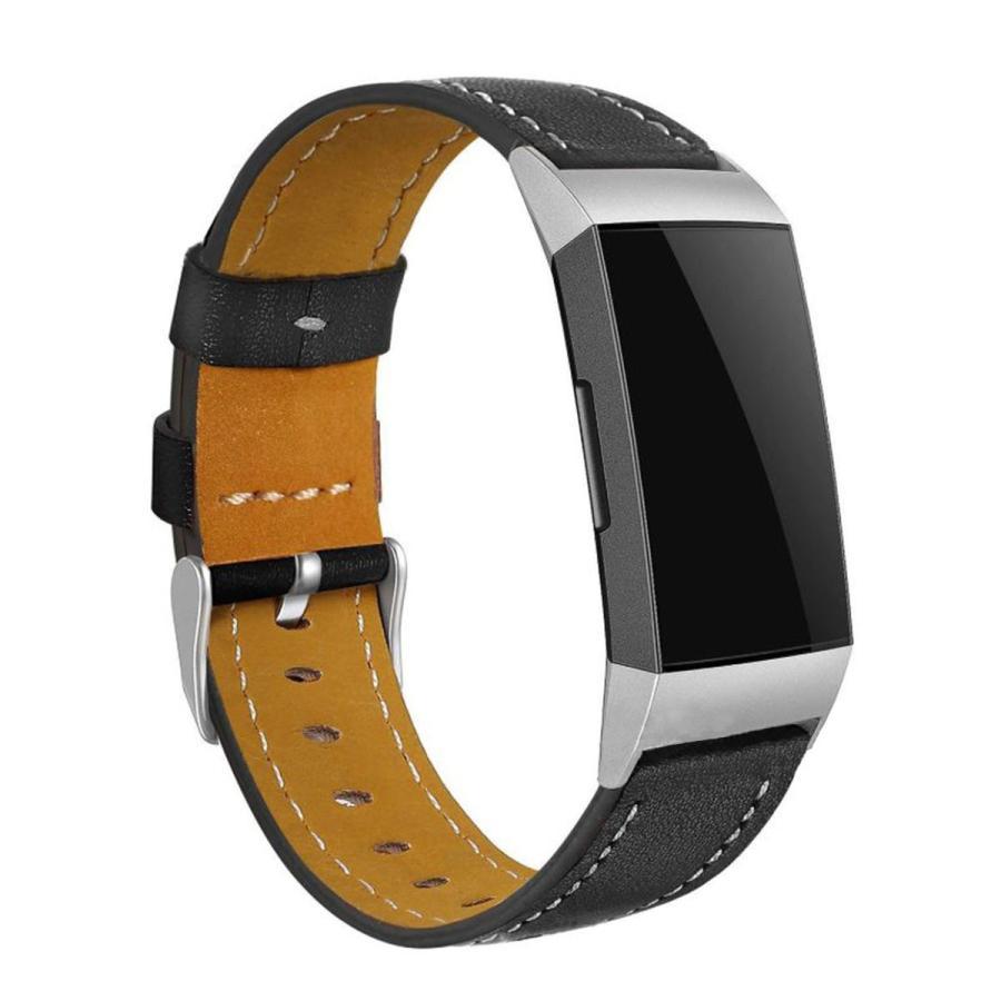 Fitbit Charge3 Charge4 バンド 交換 革 フィットビット チャージ 3 4 対応 ベルト レザー goovice 02