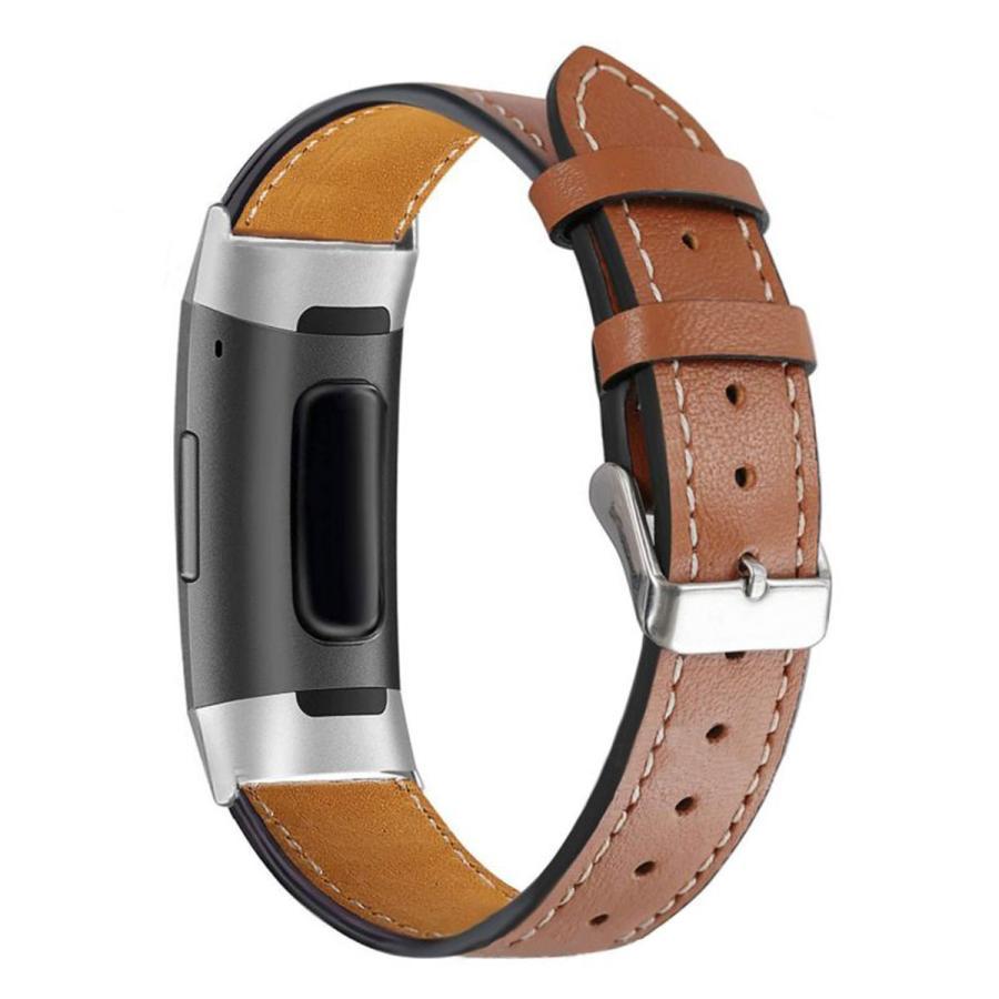 Fitbit Charge3 Charge4 バンド 交換 革 フィットビット チャージ 3 4 対応 ベルト レザー goovice 11