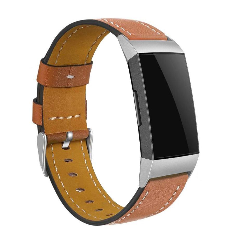 Fitbit Charge3 Charge4 バンド 交換 革 フィットビット チャージ 3 4 対応 ベルト レザー goovice 04