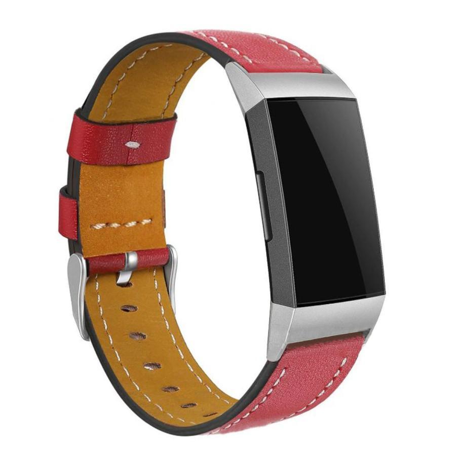 Fitbit Charge3 Charge4 バンド 交換 革 フィットビット チャージ 3 4 対応 ベルト レザー goovice 05