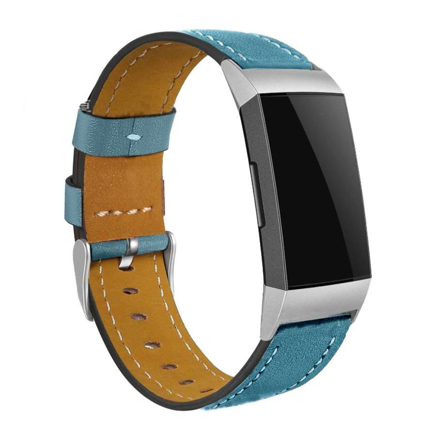 Fitbit Charge3 Charge4 バンド 交換 革 フィットビット チャージ 3 4 対応 ベルト レザー goovice 06