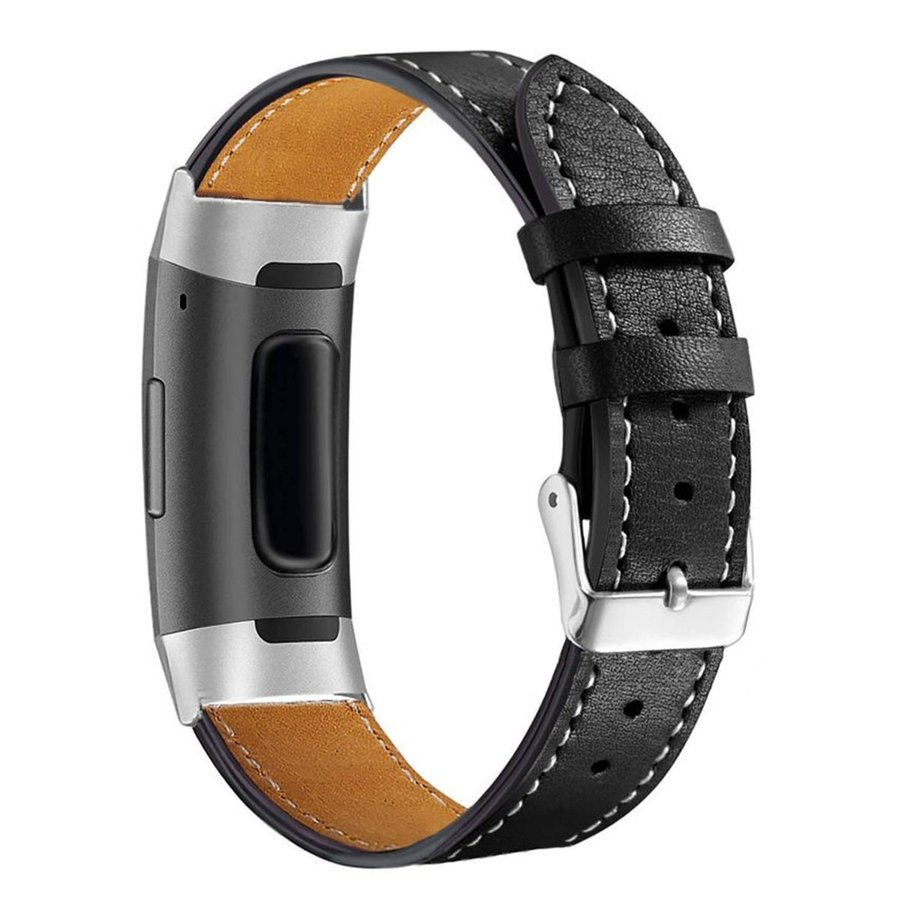 Fitbit Charge3 Charge4 バンド 交換 革 フィットビット チャージ 3 4 対応 ベルト レザー goovice 07