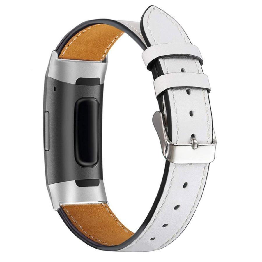 Fitbit Charge3 Charge4 バンド 交換 革 フィットビット チャージ 3 4 対応 ベルト レザー goovice 08