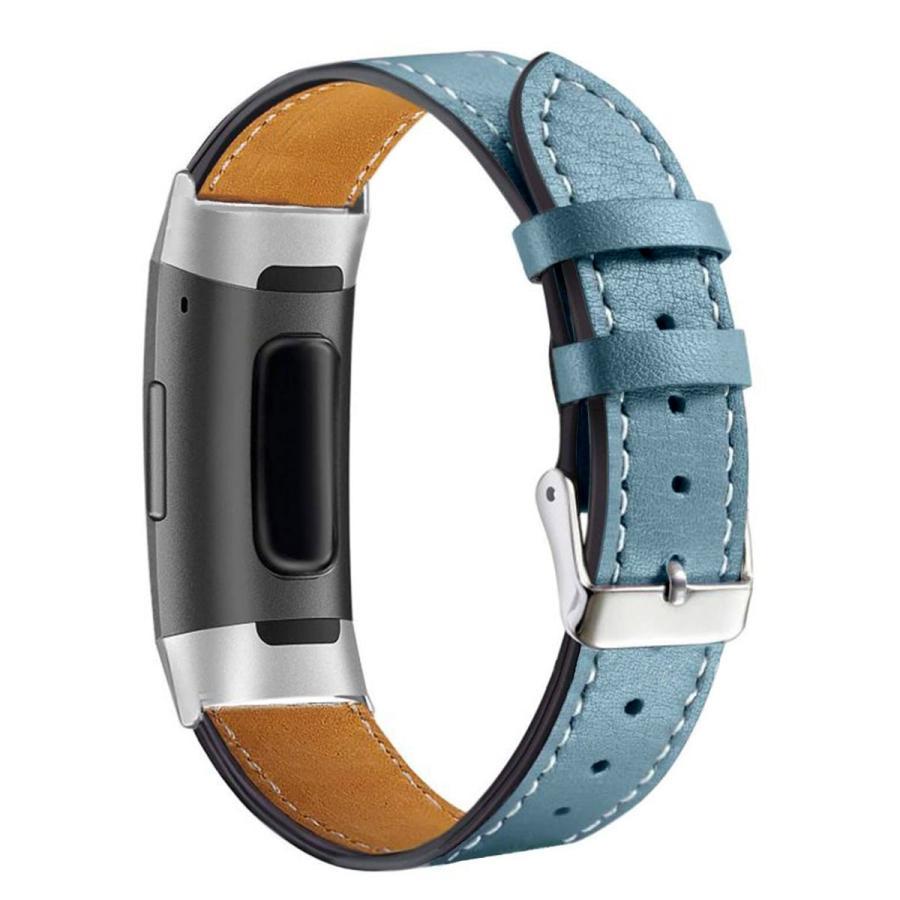 Fitbit Charge3 Charge4 バンド 交換 革 フィットビット チャージ 3 4 対応 ベルト レザー goovice 09