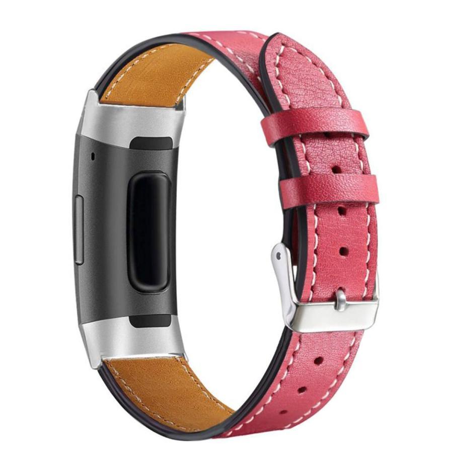 Fitbit Charge3 Charge4 バンド 交換 革 フィットビット チャージ 3 4 対応 ベルト レザー goovice 10