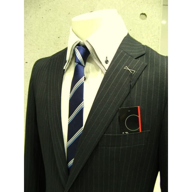 dc フィッチェ スーツ メンズ スリム 秋冬 30代/40代/50代  Y体 Y7 グレー|gorgons|04