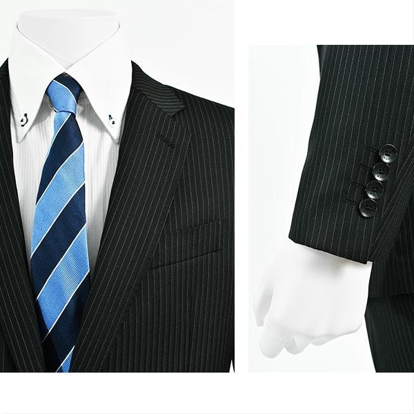 dc レノマ スーツ メンズ スリム 秋冬春 30代/40代/50代   ブラック gorgons 03
