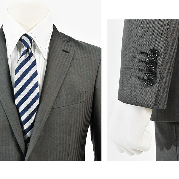 dc フィッチェ スーツ メンズ スリム 秋冬春 30代/40代/50代  Y体 Y5 グレー gorgons 03