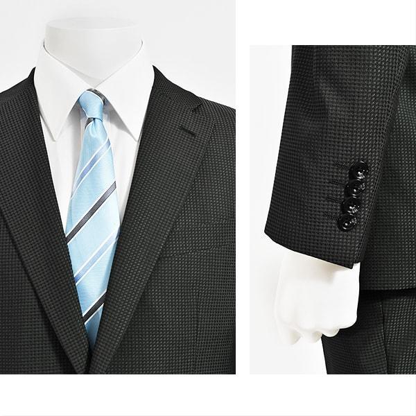 dc フィッチェ スーツ メンズ スリム 秋冬春 30代/40代/50代  Y体 Y4/Y6 チャコールグレー|gorgons|03