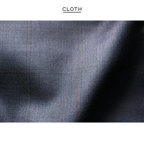 dc フィッチェ スーツ メンズ スリム 秋冬 30代/40代/50代  Y体 Y4 ネイビー|gorgons|05